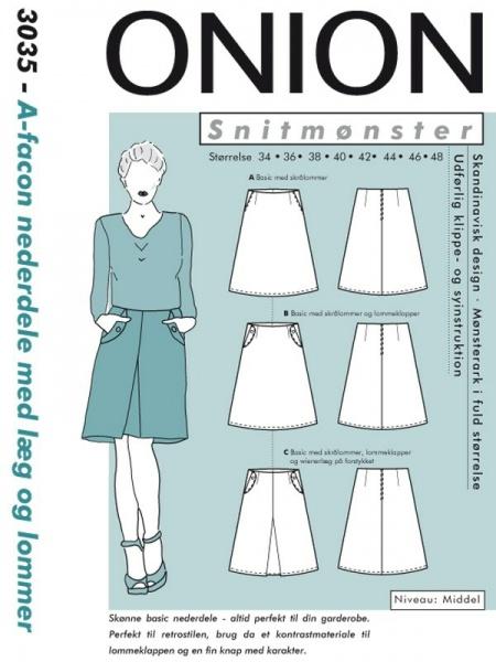 Mønster til klær Spødet